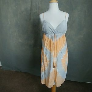 Gypsy 05 Silk Tie Dye Dress
